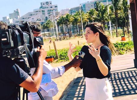 Reportagem exibida no Jornal da TV Vitória sobre câncer de pele
