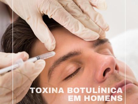 Botox (toxina botulínica) em homens