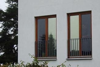 3M Silver Spiegelfolie Sichtschutzfolie Gebäude