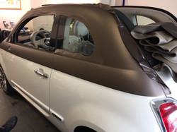 Folierung Fiat 500 Holm