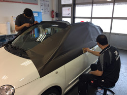 Folierung Fiat 500