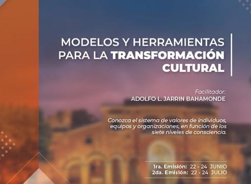 Certificación en Modelos y Herramientas para la Transformación Cultural, 1ra. Edición.