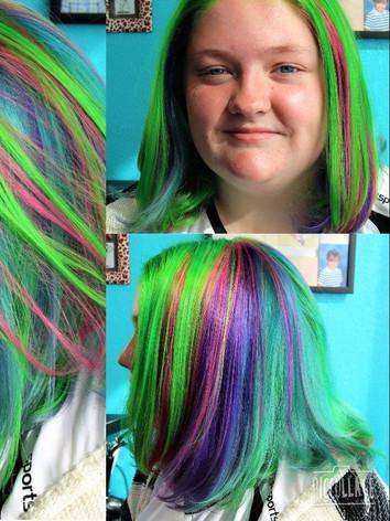 Sophies multi dimensional vivid hair
