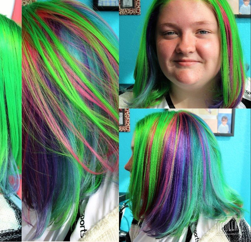 Sophies multi dimensional vivid hair