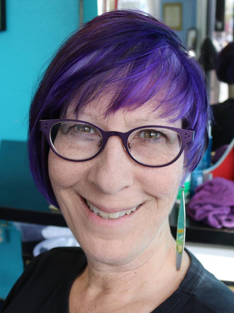 Gloria LOVES purple