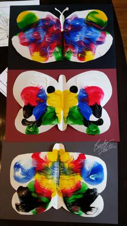 Symetrical Butterflies