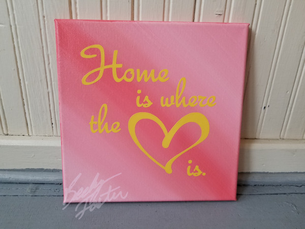 Home is where the heart is. (2019)