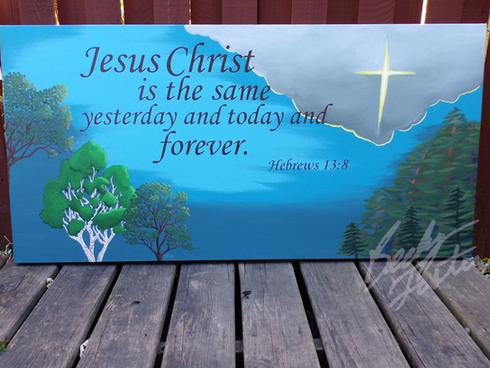 Hebrews 13:8 (2018)