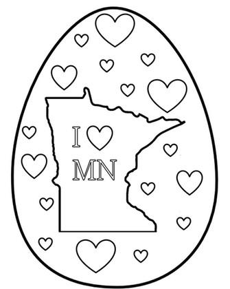 I Love Minnesota - Egg Hunt 2020