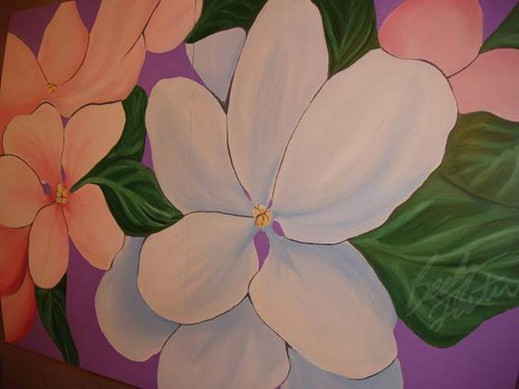 Blossoms on Table (2006)