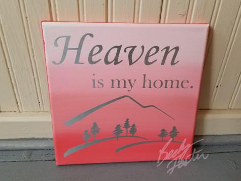 Heaven is my home. (2019)
