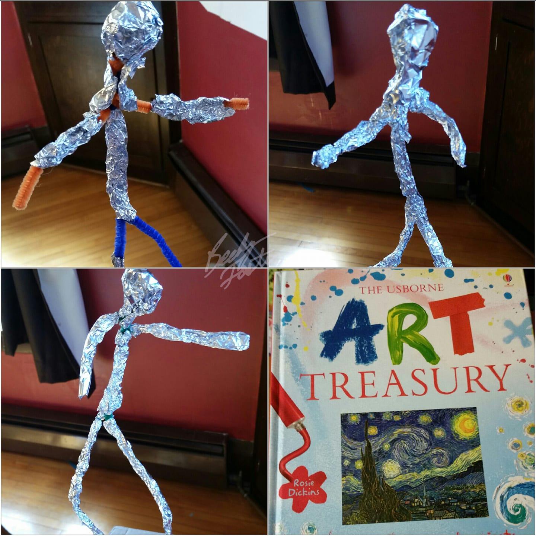 Foil Sculptures - Alberto Giacometti