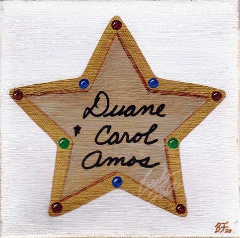 Amos Memorial Star (2020)