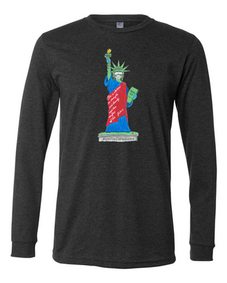 United We Stand shirt - charcole