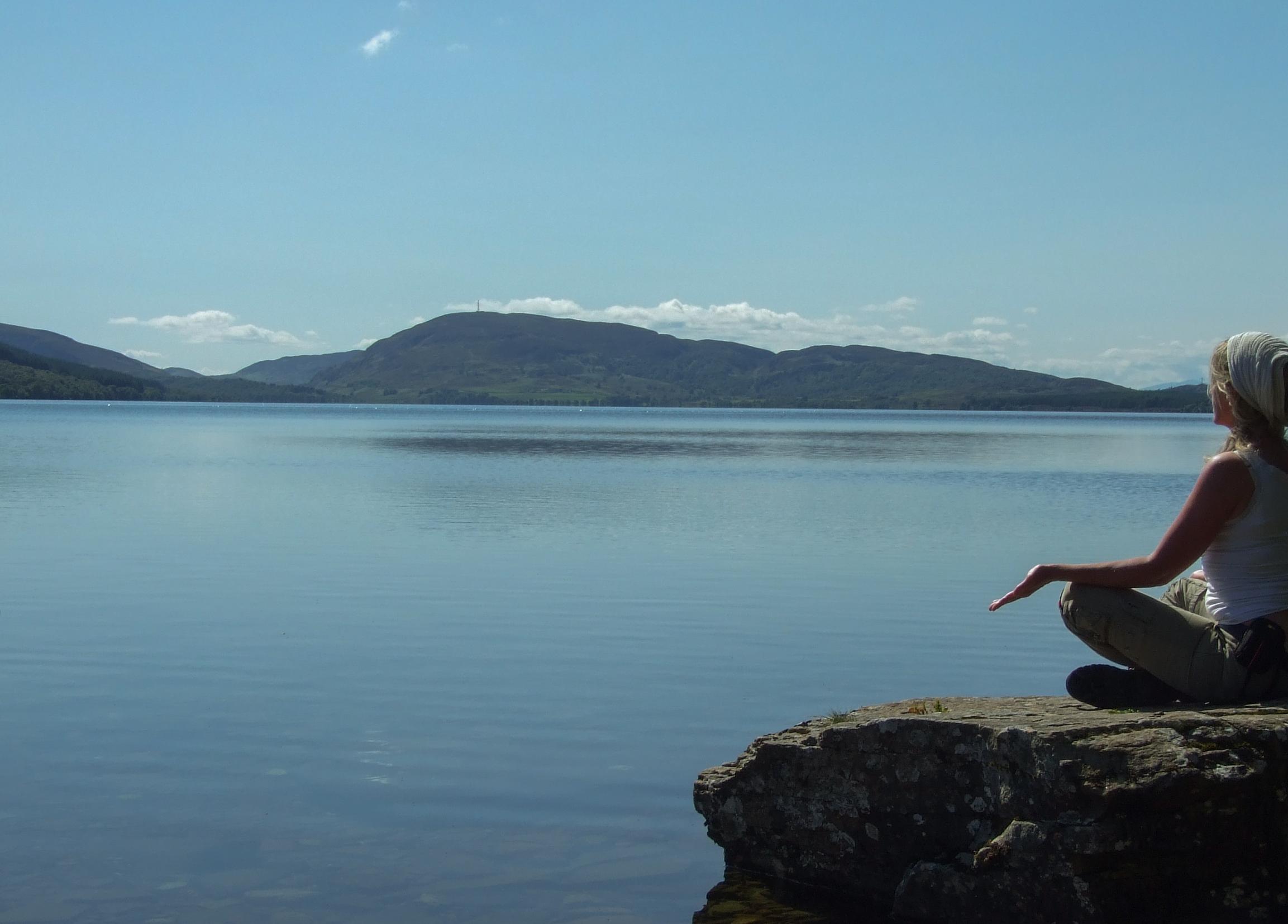 Meditatie in Schotland