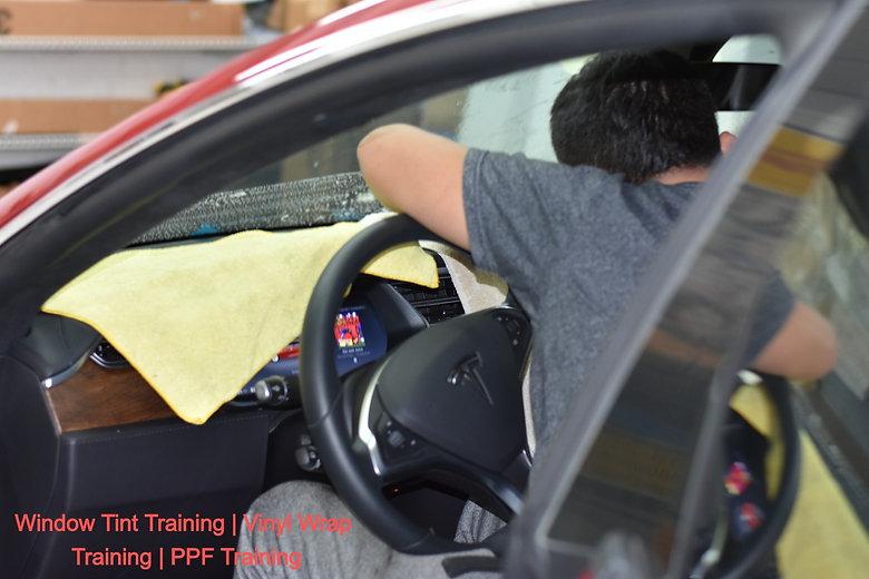 window tint training, vinyl wrap training, ppf training