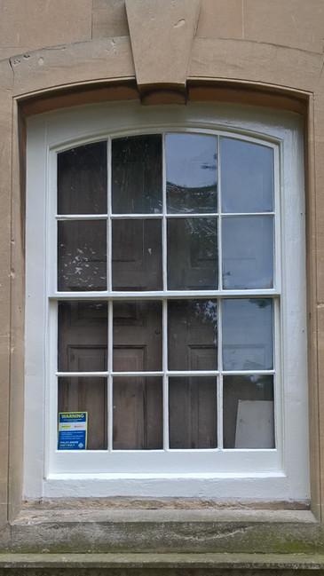 Great Witley Church, Grade 1 Listed sash window restoration