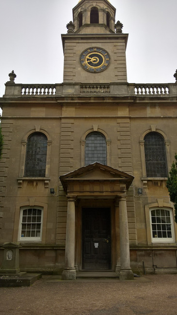 Great Witley church Grade 1 listed