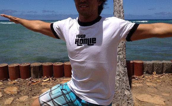 Unisex Yoga Homie Ringer T