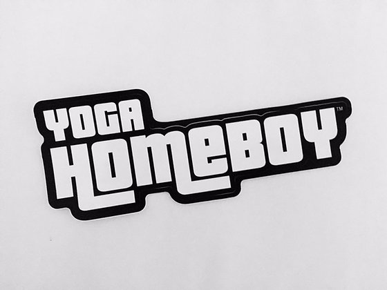 Yoga Homeboy Sticker
