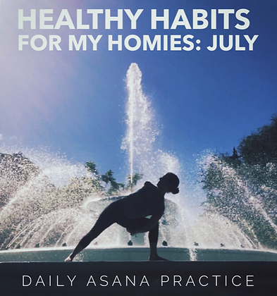 JULY HEALTHY HABITS