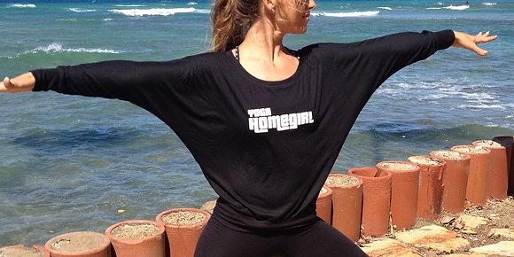 Women's Yoga Homegirl Slouchy Longsleeve