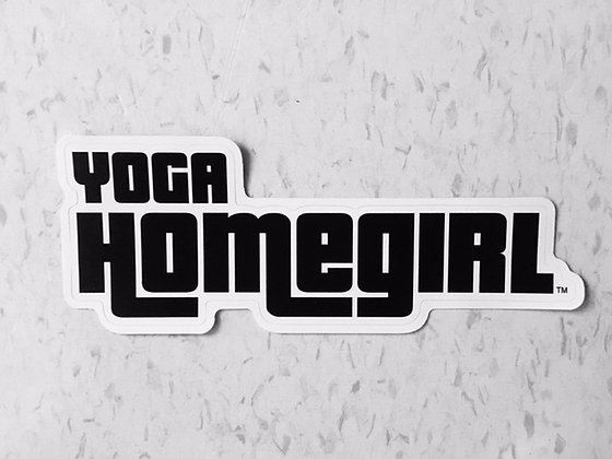 Yoga Homegirl Sticker