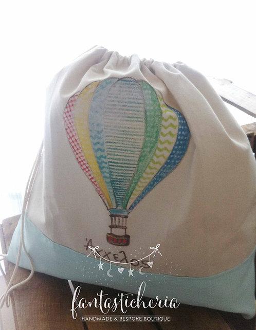 σετ βαπτιστικών αερόστατο