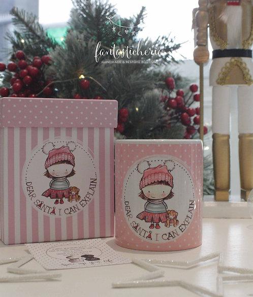 χριστουγεννιάτικη κούπα dear santa..