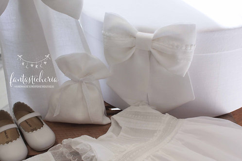 """σετ βαπτιστικών """"White Linen"""""""