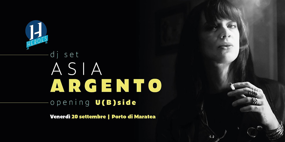 Asia Argento DJ Set for Heroes 2019