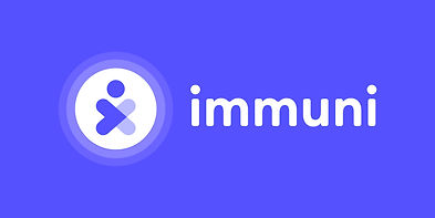 Immuni Logo - Flat version - Horizontal.