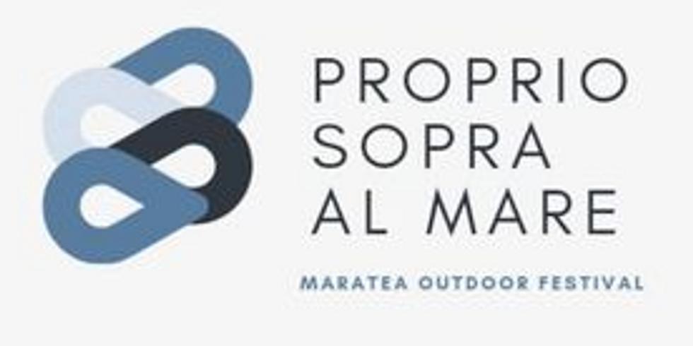 Maratea Outdoor Festival: Proprio sopra al mare