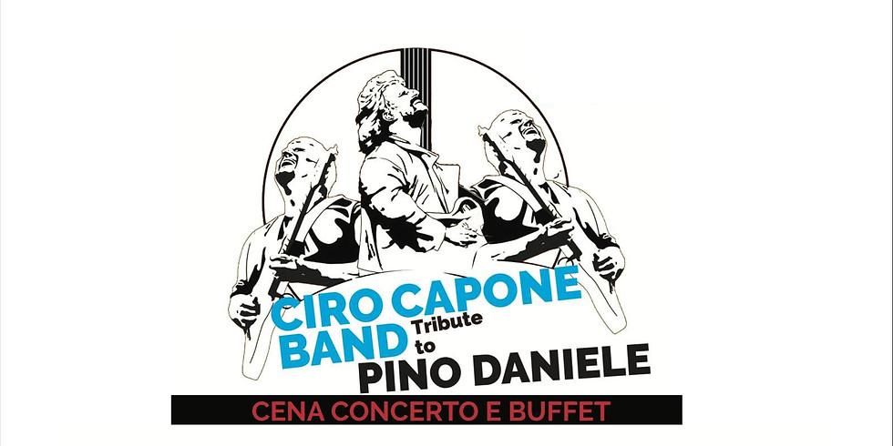Una dedica a Pino Daniele con Ciro Capone Band
