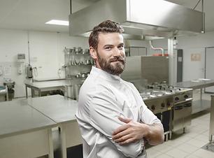 Chef in a Kitchen