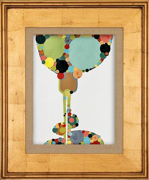 Mid Century Modern Style Abstract by Robin Arthur