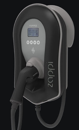 Zappi 22kW 3 Phase electric car charger for home