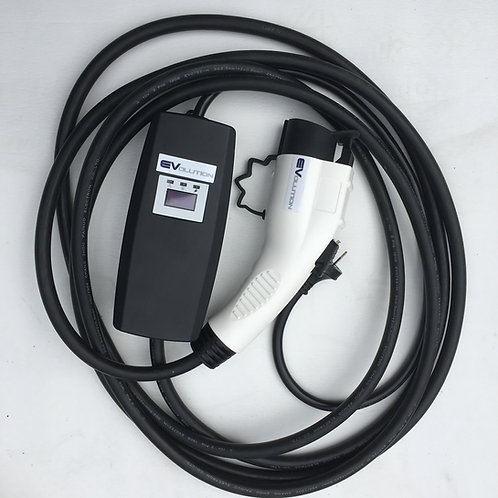 Portable Switchable EVSE EV Charger Up to 10 Amps (2.4kw)