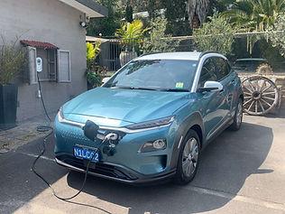 Hyundai Kona and Zappi electric car charger