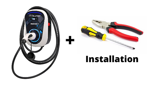 Electric Car Wall Charger + Installation Bundle