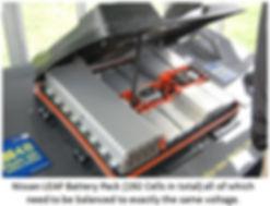 Battery Management System BMS Nissan LEAF EVSE