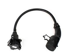 Type 1 J1772 to Type 2 (Mennekes) Tesla Adaptor Cable