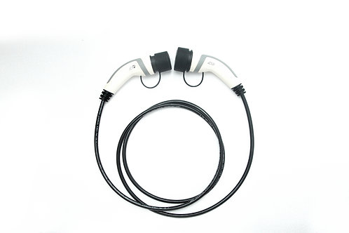 Type 2 to Type 1 5m Public Charging Cable 32 Amp for Nissan and Mitsubishi