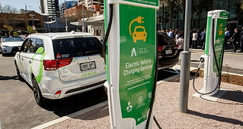 Adelaide Electric Public Charging Stations