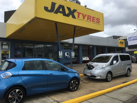 JAX Tyres Charging Network - Here's the Detail!