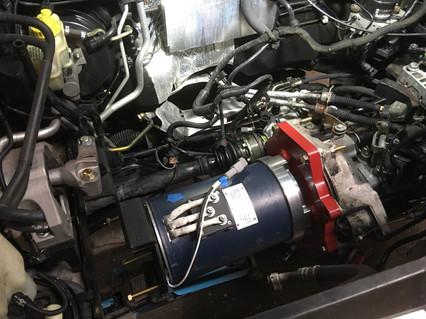 EVSE EV Charger Audi A3 EV Conversion