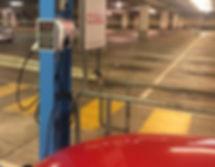 Car Park EV electric car Charging Station