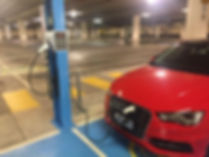 Woden Shopping Centre Cylon electric car chager