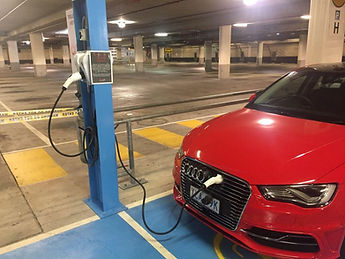 Commercial EV Charger Installation