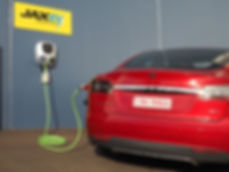 JAX Tyres AURA elecric car charger
